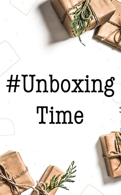 #UnboxingTime
